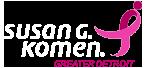 Susan G Komen® Greater Detroit Logo